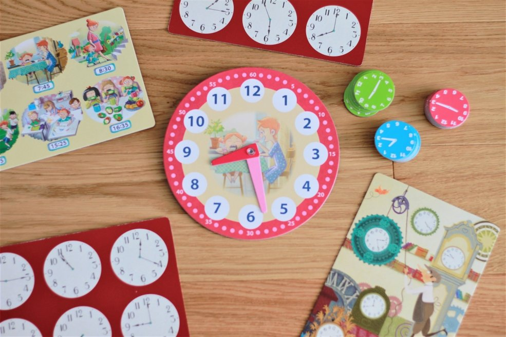 gra dla dzieci zegar