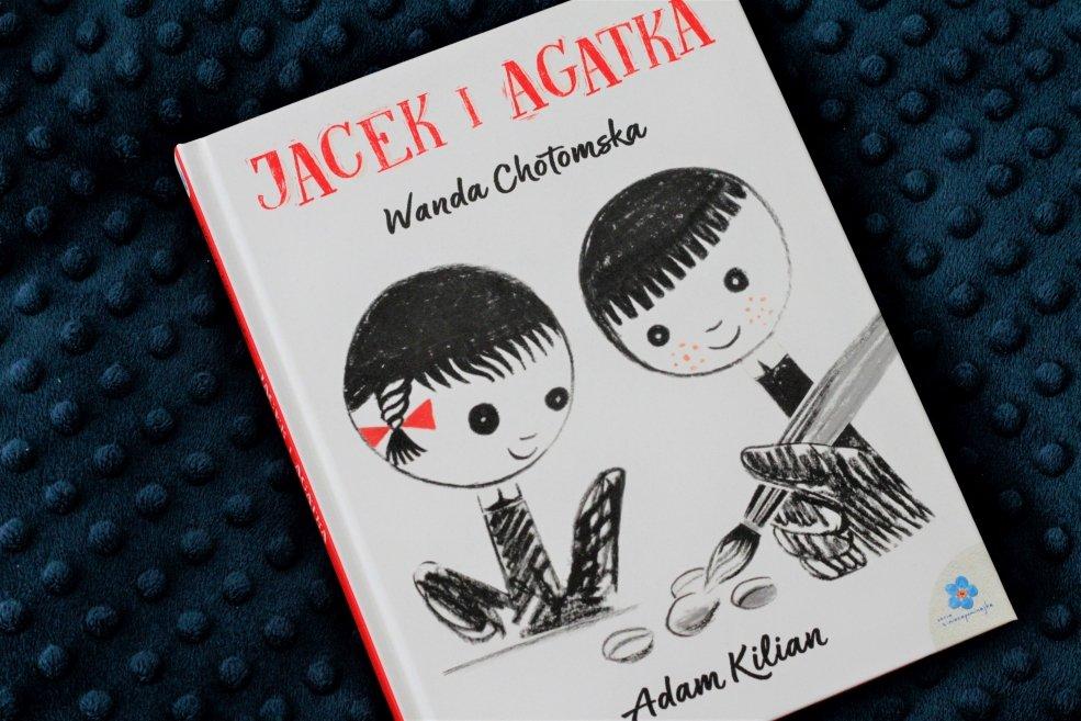 książki do usypiania dzieci jacek i agatka