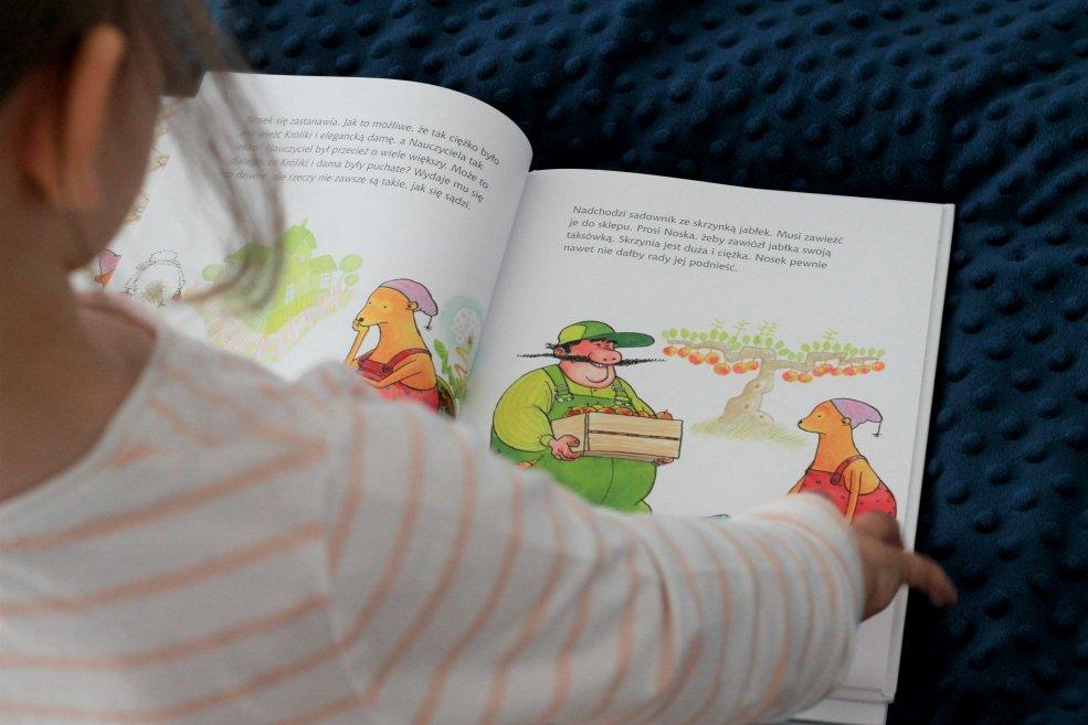 książki do usypiania dzieci nosek