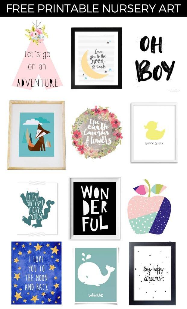 darmowe plakaty do pokoju dziecka