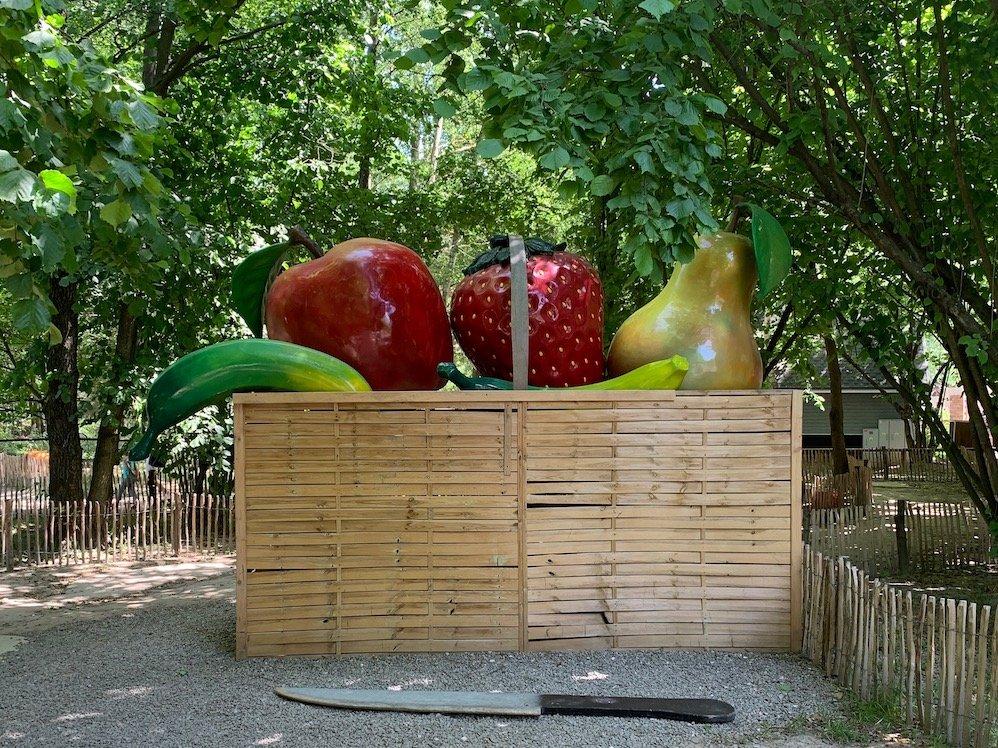 ogródek olbrzyma farma iluzji