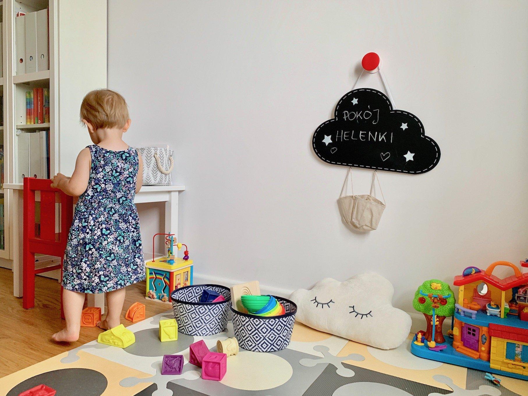 jak przechowywać zabawki dziecięce