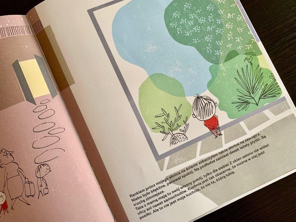 książka dla dziecka o przeprowadzce