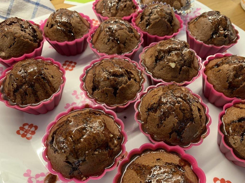 szybkie muffinki czekoladowe