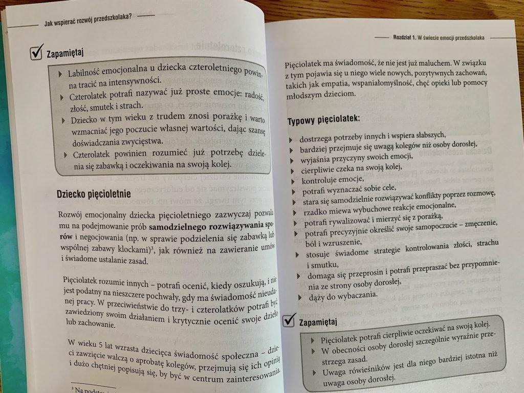 książka rozwój przedszkolaka