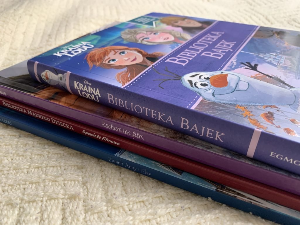 książki kraina lodu 2