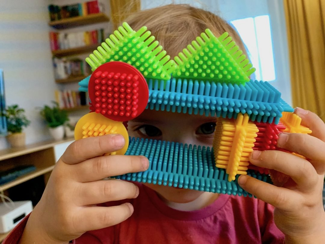 klocki jeżyki dla dzieci