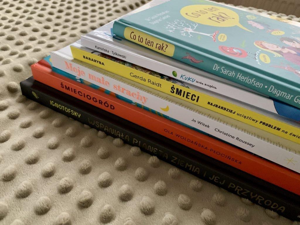 książki dla dzieci na ważne tematy