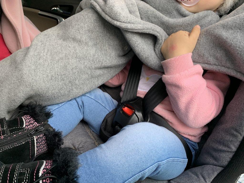 ponczo samochodowe dla dziecka