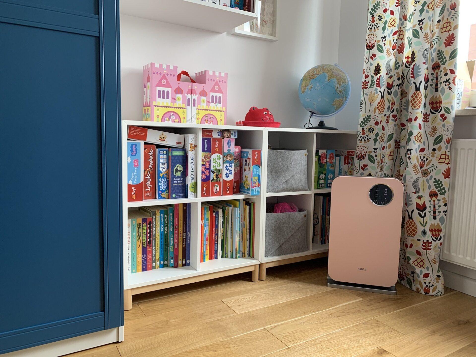 oczyszczacz powietrza do pokoju dziecka