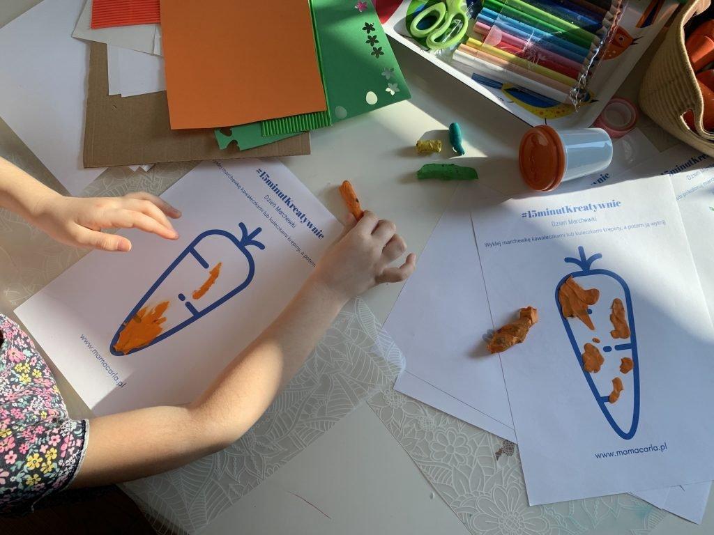 szablony na dzień marchewki