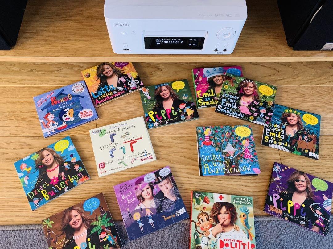najlepsze audiobooki dla dzieci
