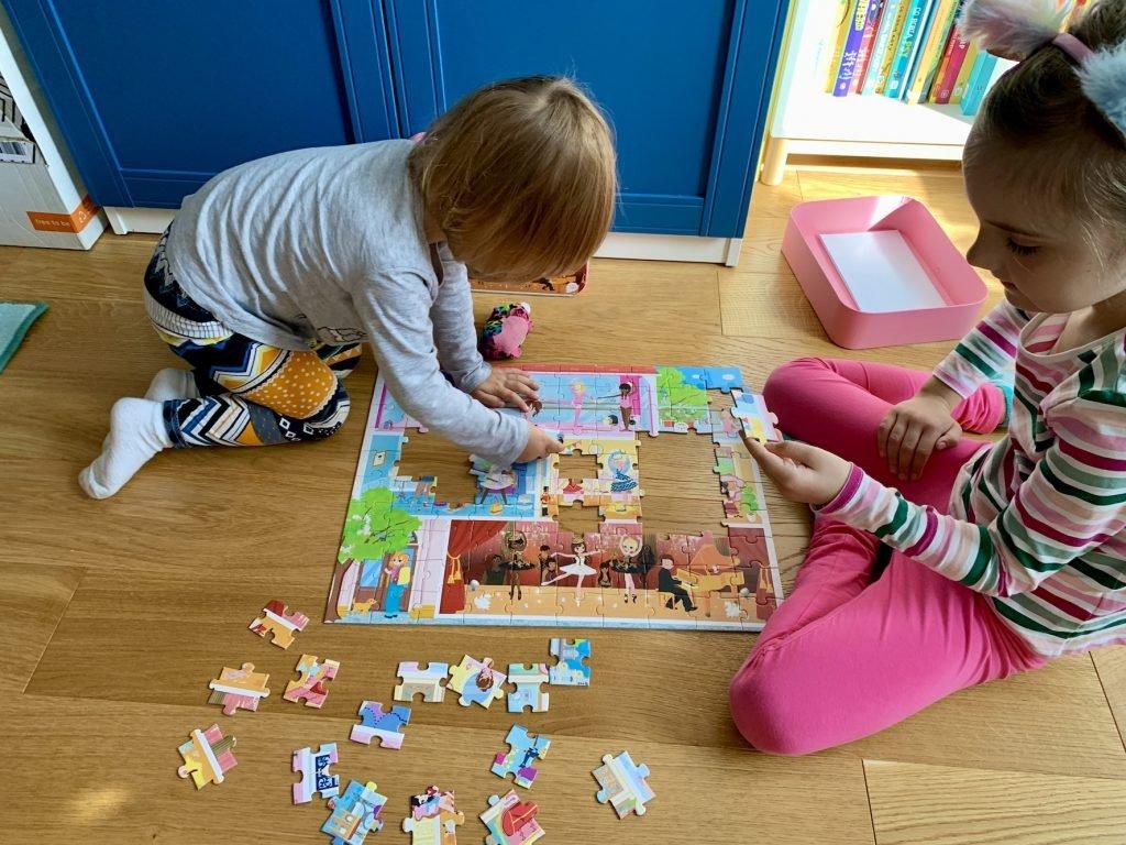 puzzle w walizce